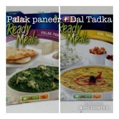 GITS Dal Tadka + Palak Paneer