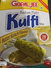 Gopaljee Butter Scotch Kulfi Mix 200gm