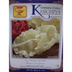 Deep Green Chilli Khichiya