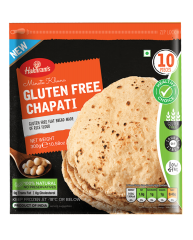 HALDIRAMS Gluten Free Chapati 300gm (10 Pieces)