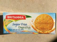 Britannia Digestive Sugar free Biscuit 350g