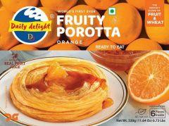 DD Orange Fruity Parotta 300gm