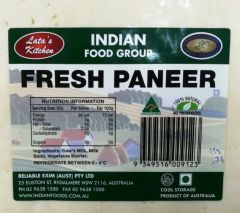 Latas Kitchen Paneer - Select from DropDown