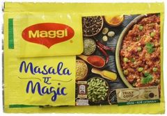 Maggie Masala Pouch 72gm Pack (6gm * 12 packs)