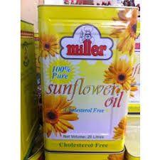 Miller Sunflower Oil 20ltr