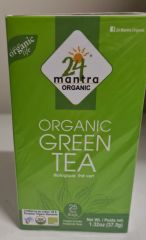 24 Mantra Organic Green Tea Bags (25Bags)