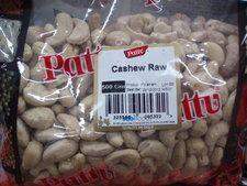 Pattu Cashew Raw (Whole) 500g