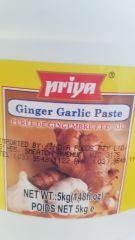 Priya Ginger Garlic Paste 5kg