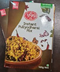 999 Plus - Instant Puliyodharai Mix 165gm (Buy 1 Get 1 Free)