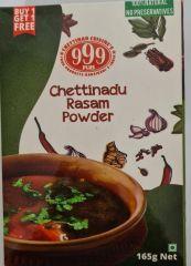 999 Plus Chettinadu Rasam Powder 165gm (Buy 1 Get 1 Free)