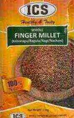 Whole Finger Millet (Kelvarugu, Ragulu, Ragi, Nachani) - 1Kg