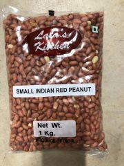 Lata's Kitchen Small Red Peanuts with Skin 1kg