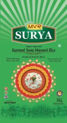 Surya Kurnool Sona Masoori Rice 25kg