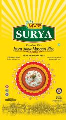 Surya Premium Jeera Sona Masoori Rice 25kg