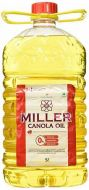 Miller Canola Oil 5ltr
