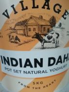 Village Indian Dahi Pot Set Yoghurt 5kg